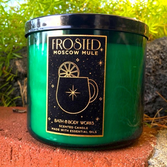 Bath and Body Works frosted Moscow Mule Candle